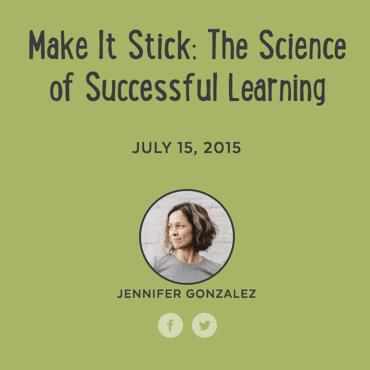 Jennifer Gonzalez make it stick
