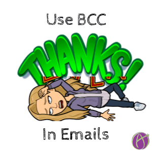 Use BCC in emails