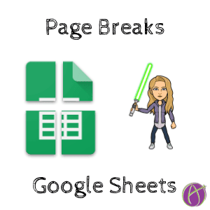 Google Sheets Page Breaks