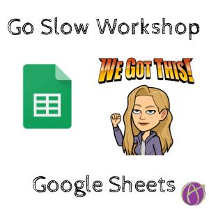 Go Slow: Spreadsheet Workshop