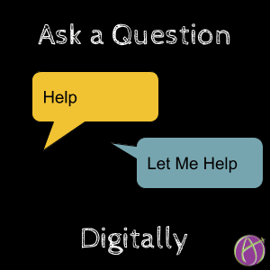 ask a question digitally