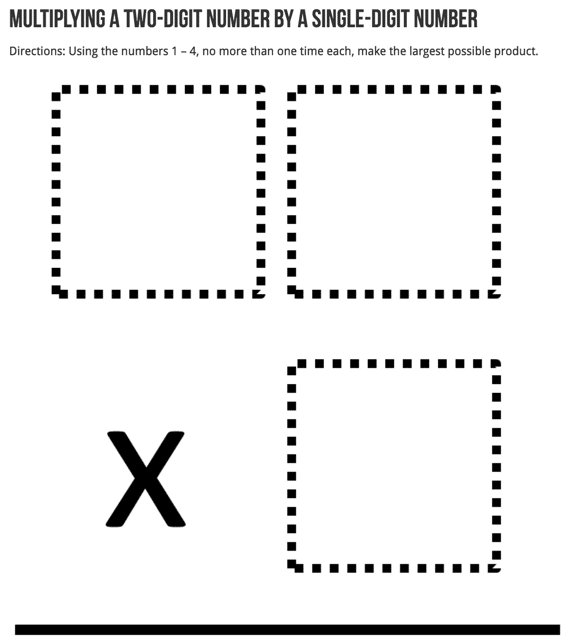 DOK 3 math problem challenges