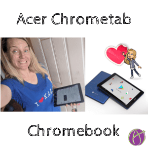 Acer Chrometab Chromebook Alice Keeler