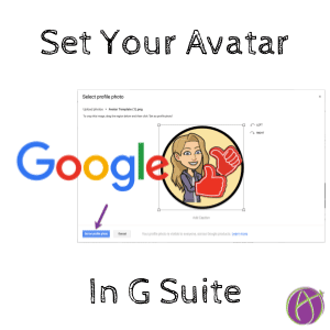 Set Your Avatar in G Suite