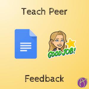 teach peer feedback