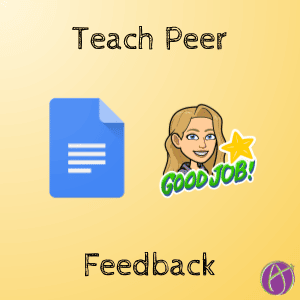 teach peer feedback