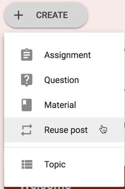 Reuse Post