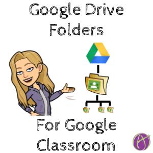 Google Drive folders for google classroom