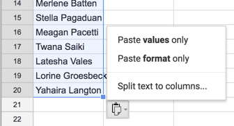 """Split text to columns."""