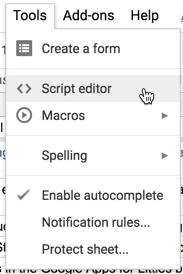protect spreadsheet script