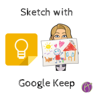Sketch with Google Keep