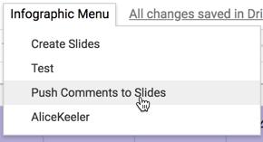 Push Comments to Slides