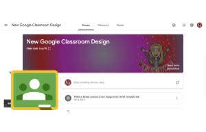 Customize the Google Classroom theme