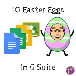 10 Easter Eggs in G Suite