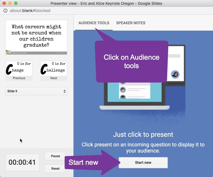 Audience Tools