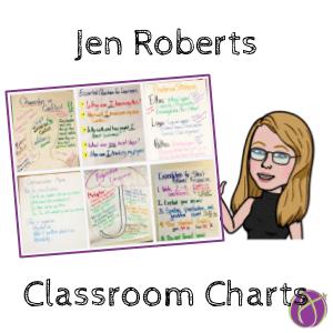 Jen Roberts Classroom Charts