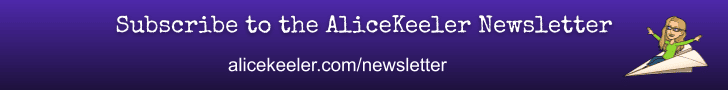 Subscribe to the alice keeler newsletter
