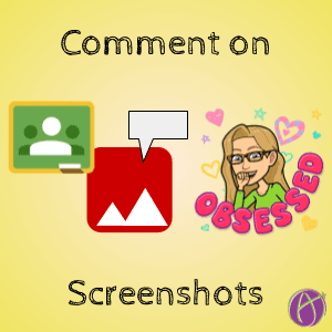 Comment on Screenshots