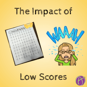 The impact of low scores