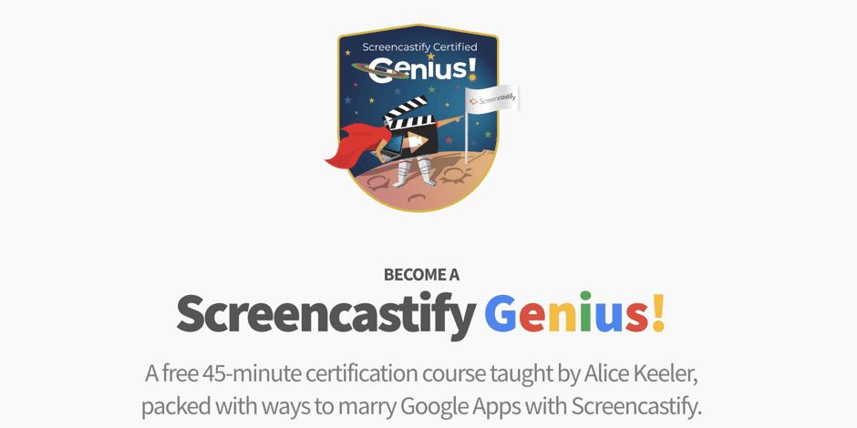 Screencastify Genius