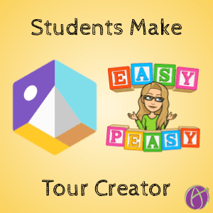 Students make tour creator