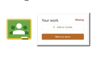 Google Classroom Your Work Bubble