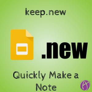 keep dot new