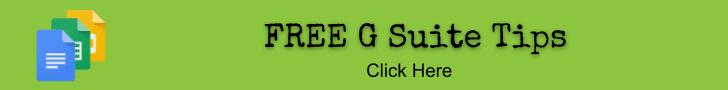 Free G Suite Tips Workshop