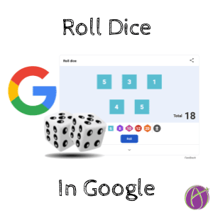 Roll Dice in Google