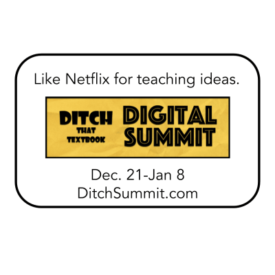 Ditch Summit: A FREE online conference for teachers
