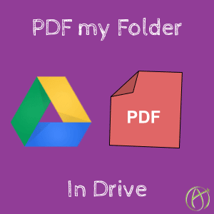PDF my Folder – Add-on