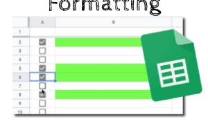 Check the Formatting Google Sheets