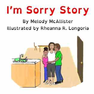 I'm Sorry Story book cover