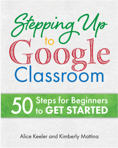 Book On Amazon: Stepping Up to Google Classroom
