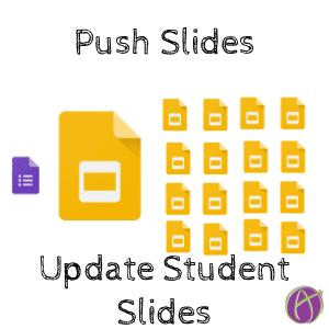 Push Slides Update Student Slides by Alice Keeler