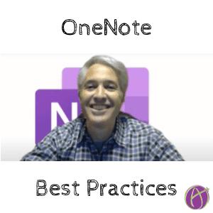 OneNote Best Practices