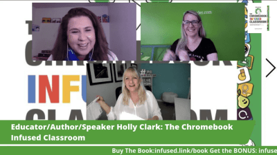 New Release! Chromebook Infused Classroom by Holly Clark! Bonus Alert!