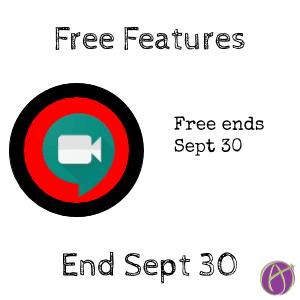 Google meet free features end september 30