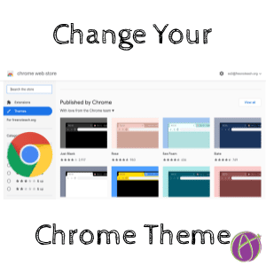 Chrome: Change Theme for Each Account