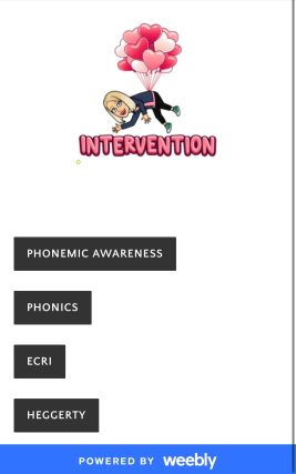 Intervention! Phonemic awareness, Phonics , Ecri, Heggerty