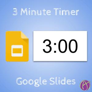 3 Minute Timer – Google Slides