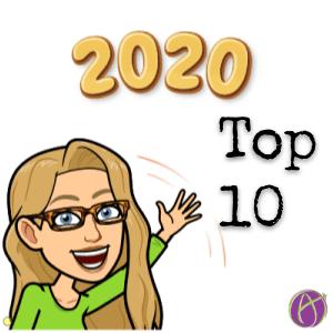 Top 10 Blog Posts of 2020 for alicekeeler.com