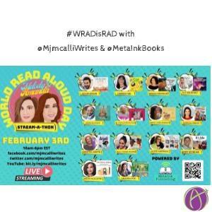 #WRADisRAD with @MjmcalliWrites @MetaInkBooks