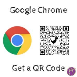 QR Code in Google Chrome