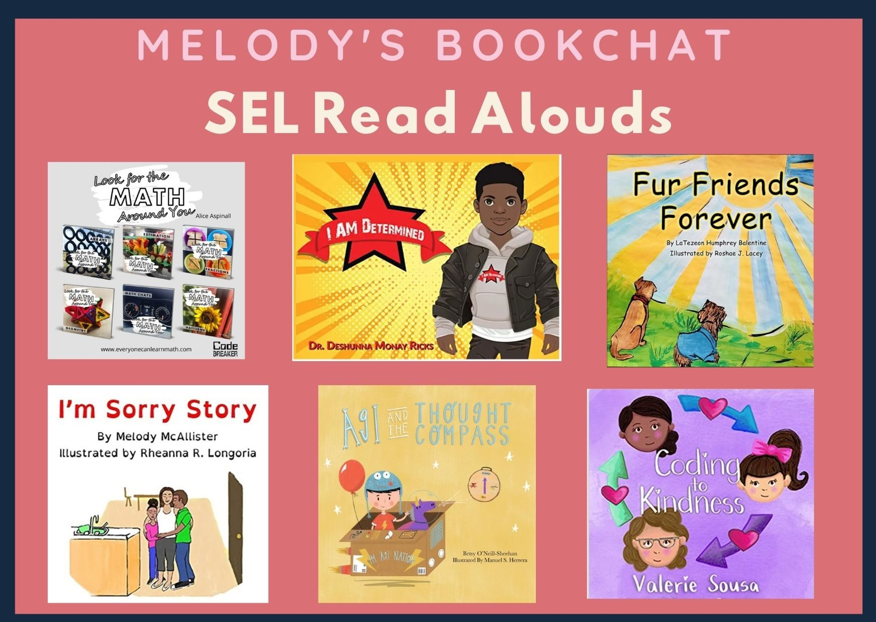 #SELday Read Alouds By @mjmcalliwrites