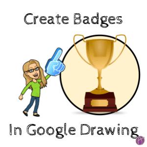 Create a Badge in Google Drawings