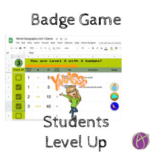 Gamification: Badge Game Template