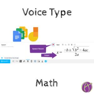 Voice Type Your Math