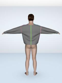 shorter back