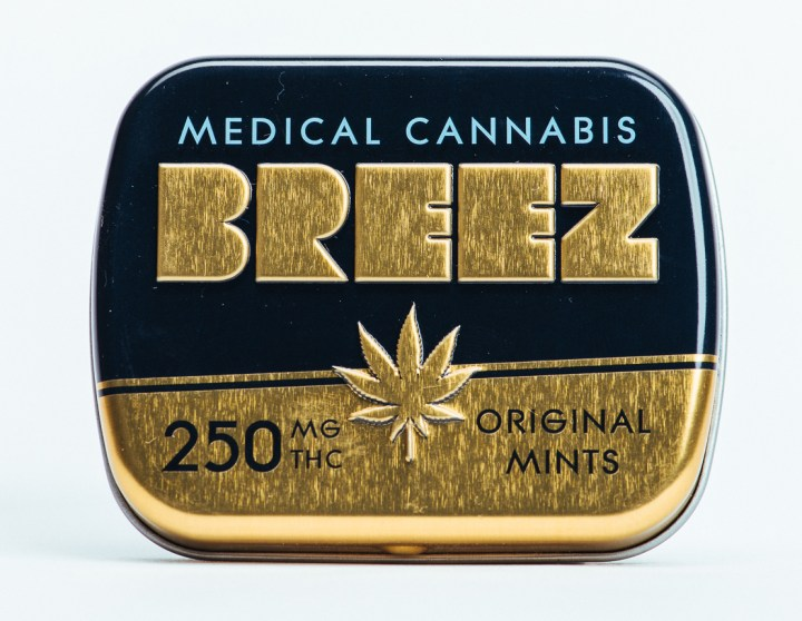 Cannabis Mints by Breez